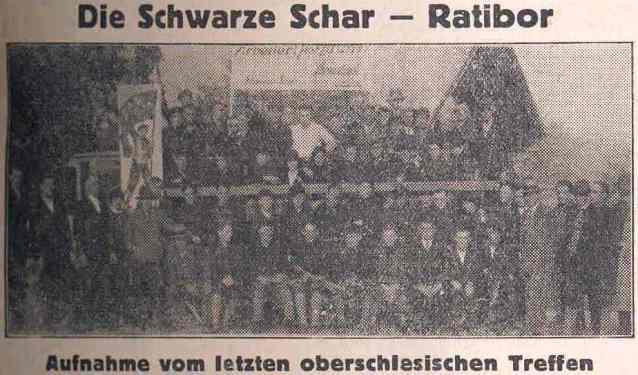 Die Schwarze Schar - Ratibor Syndikalist Nr. 44 1930