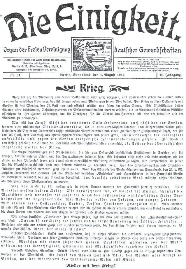 einigkeit-krieg-1914
